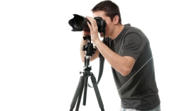 stock-photo-15297370-photographer-with-camera-isolated-on-white